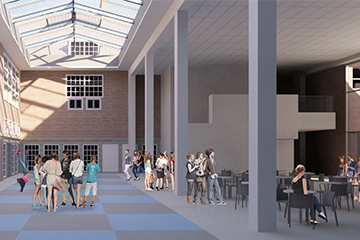 Het nieuwe Lyceum Bilthoven 1 front
